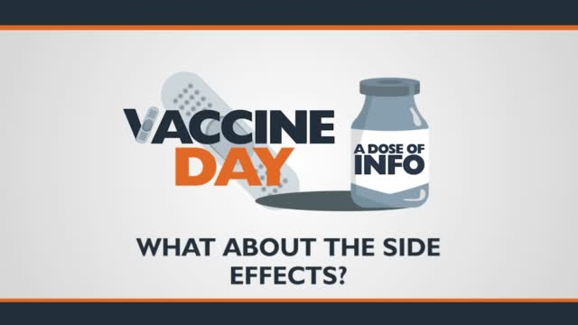 Does Of Info: What About Vaccine Side Effects?