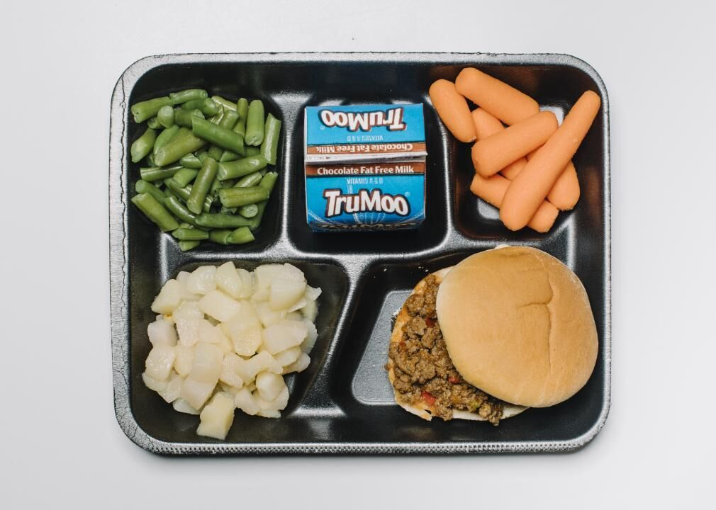 How School Cafeteria Meals Have Changed Through The Years