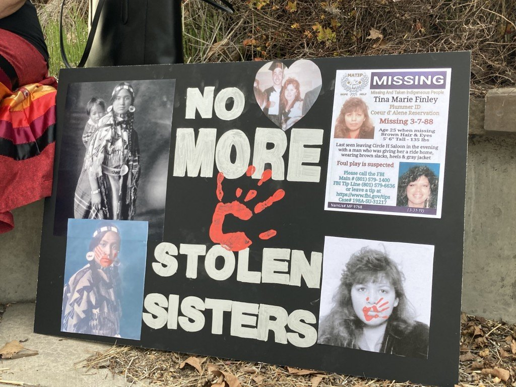 Spokane community remembers murdered and missing indigenous women.
