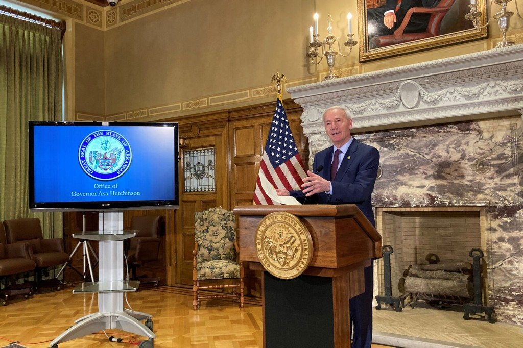 Arkansas Governor Forms Panel On State's Share Of Virus Aid