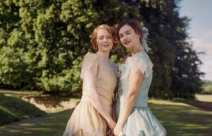 Lily James & Emily Beecham Are In 'the Pursuit Of Love' In Romantic Dramedy's Trailer (video)