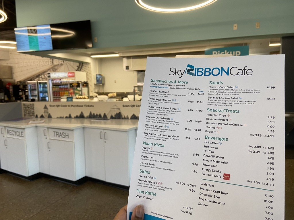 Enjoy locally-sourced artisan burgers, pizza, salads at Sky Ribbon Cafe this summer