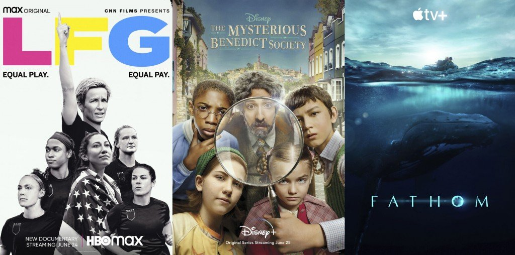 New This Week To Tv, Streaming And More: Whales, 'lfg,' 'mysterious Benedict Society'