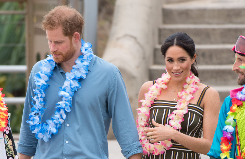 Duchess Of Sussex Reveals Archie Loves The Bench