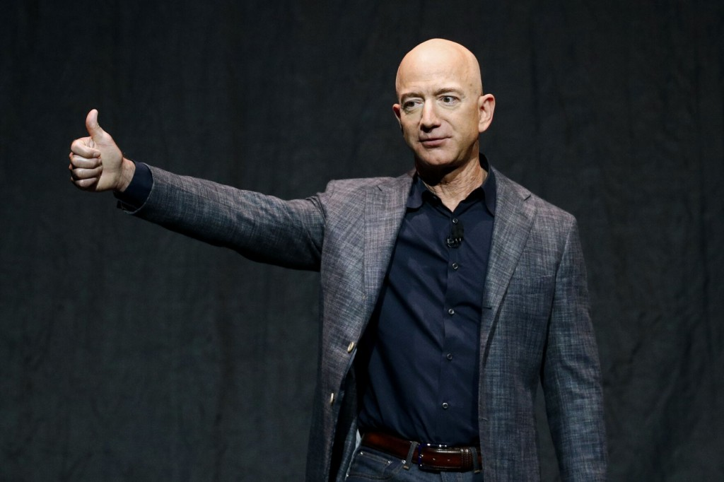 Winning Bid Of $28m Lands Ride In Space With Jeff Bezos