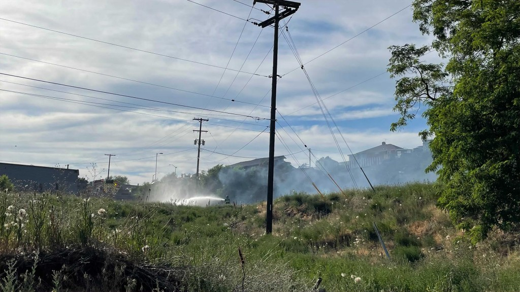 Fire Near Euclid And Division