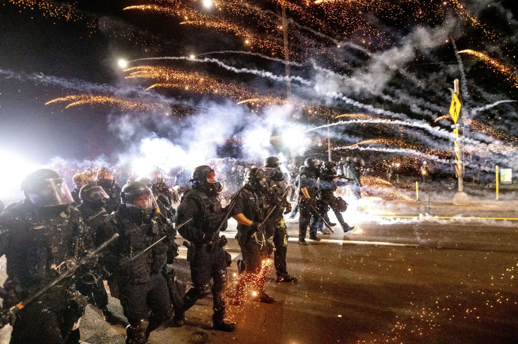 Portland, Scarred By Unrest And Violence, Tries To Come Back