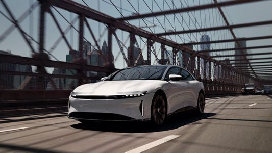 'it's A Rocket Ship': A First Ride In The Lucid Air Ev