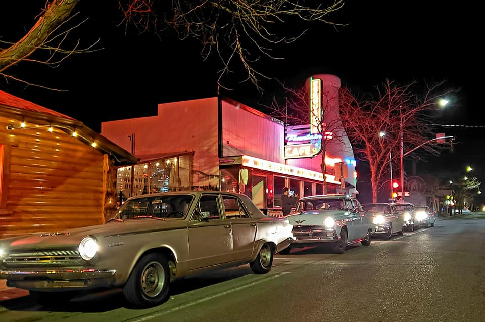 Neon Nights Dine and Drive event raising money to 'Light Up Garland'
