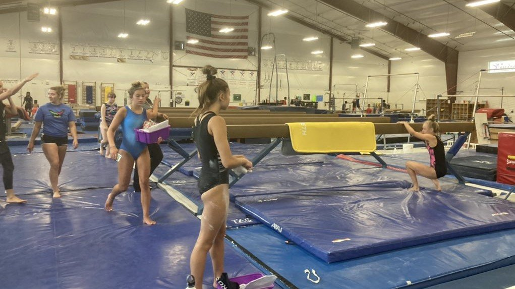 Local athletes support Simone Biles focusing on mental health.