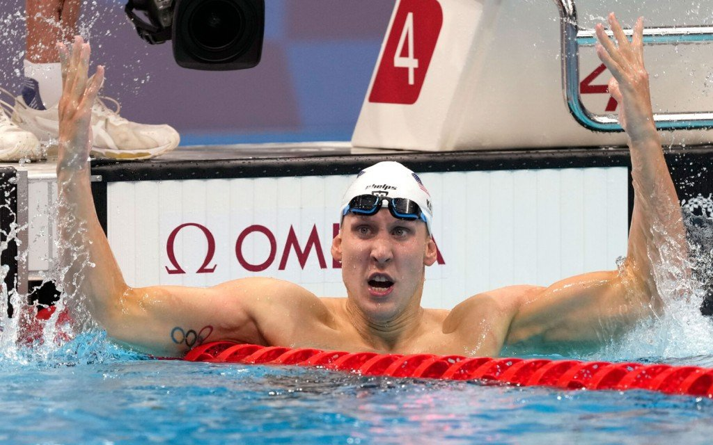 Swimmer Chase Kalisz Wins First Us Gold Of Tokyo Games