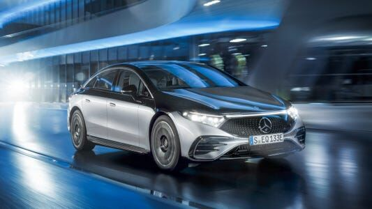 Mercedes Benz Goes All Electric By 2030
