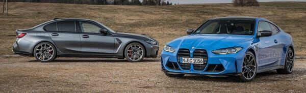 2022 Bmw M3 Competition Versus 2021 Bmw M4: Bavarian Creampuffs, Sweeter Than Ever