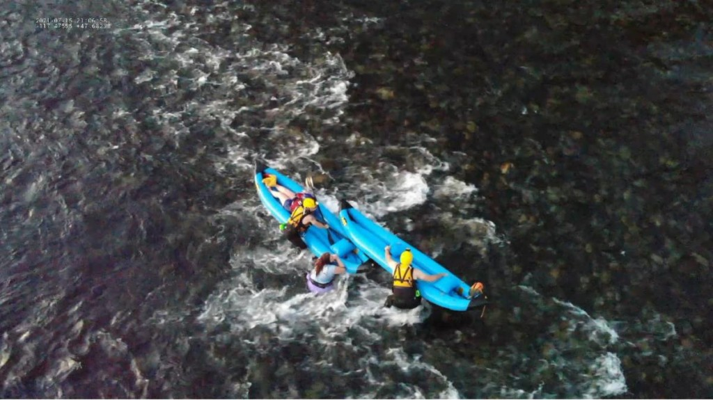 Kayakers Rescued From Spokane River July 15
