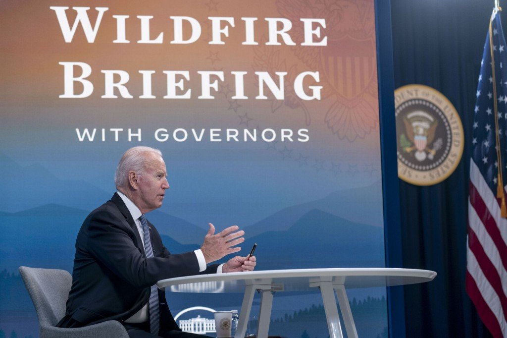 Biden Sees Shortages To Stop Climate Change Fueled Wildfires