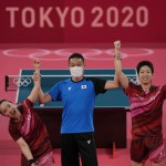 Olympics Latest: Japan Upsets China In Table Tennis