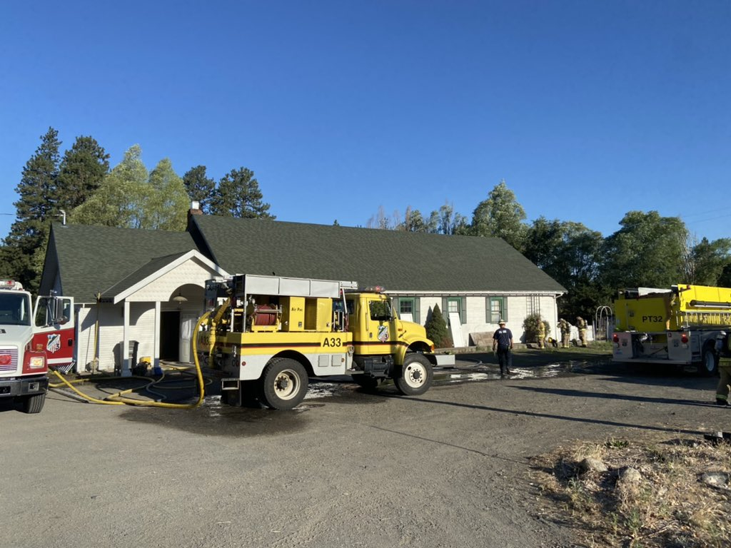 FOUR LAKES FIRE