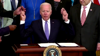 Watch Now: Biden Runs Out Of Ceremonial Pens At Bill Signing