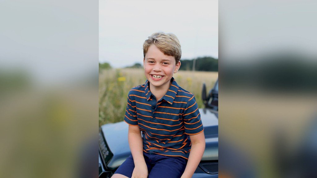 New Photograph Of Prince George For His 8th Birthday