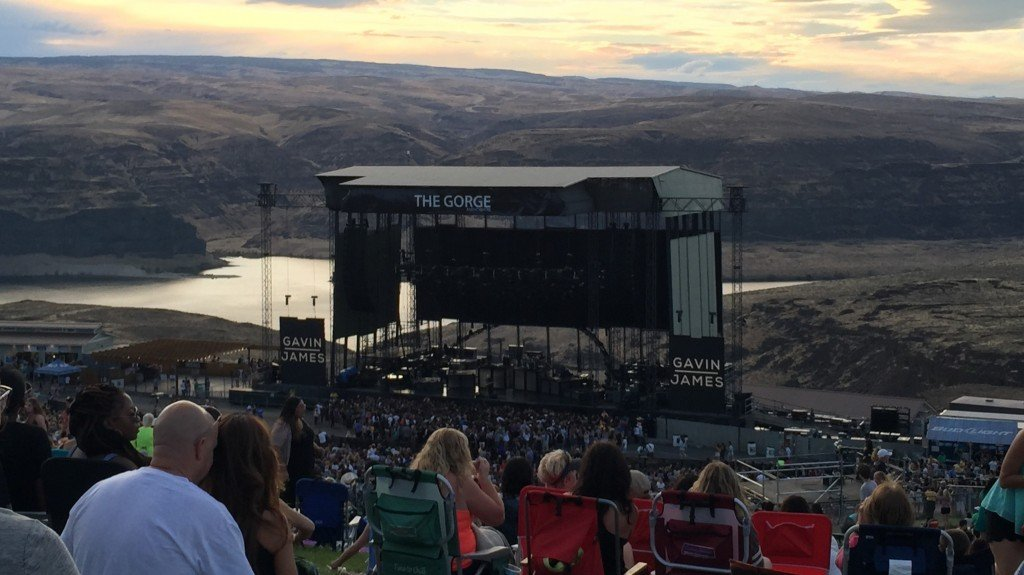 Concert at The Gorge