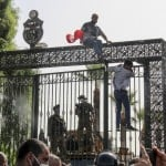 Tunisia On Edge As President Suspends Parliament, Fires Pm