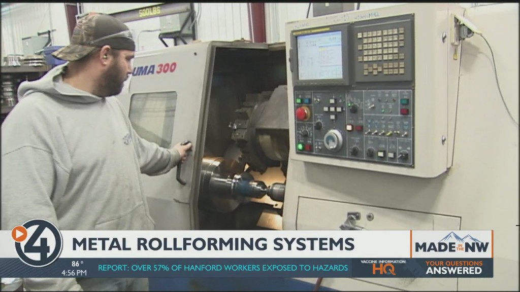Made In The Northwest: Metal Rolling Systems