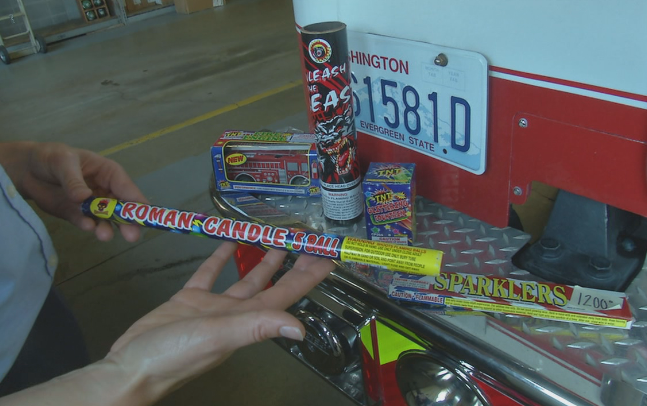 Dangers of violating a fireworks ban this weekend