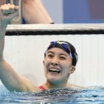 Olympics Latest: Ohashi Wins Swimming Gold For Japan