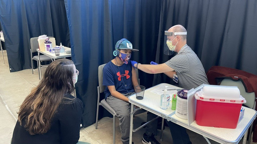 Kid Gets Vaccinated A Providence Back To School Vaccine Clinic