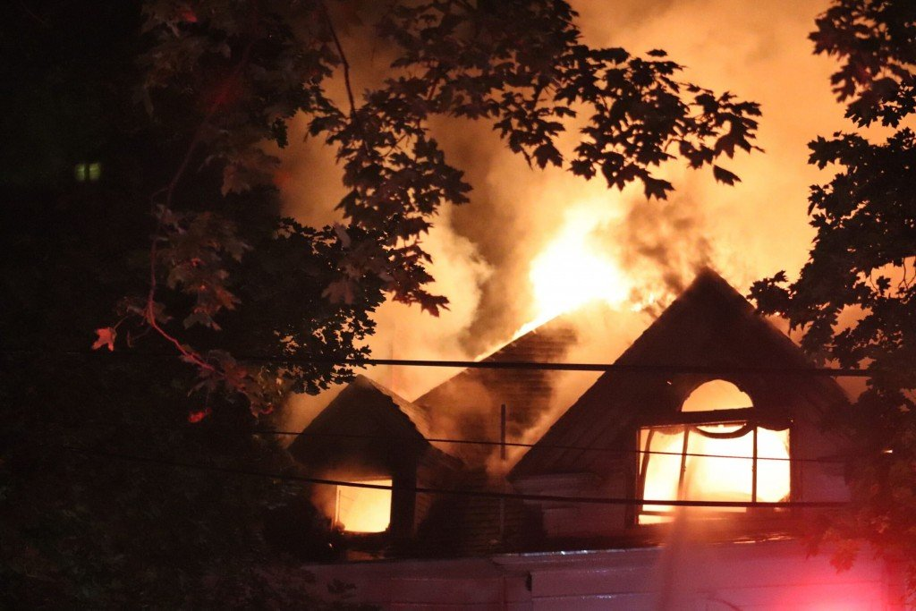 Browne's Addition fire