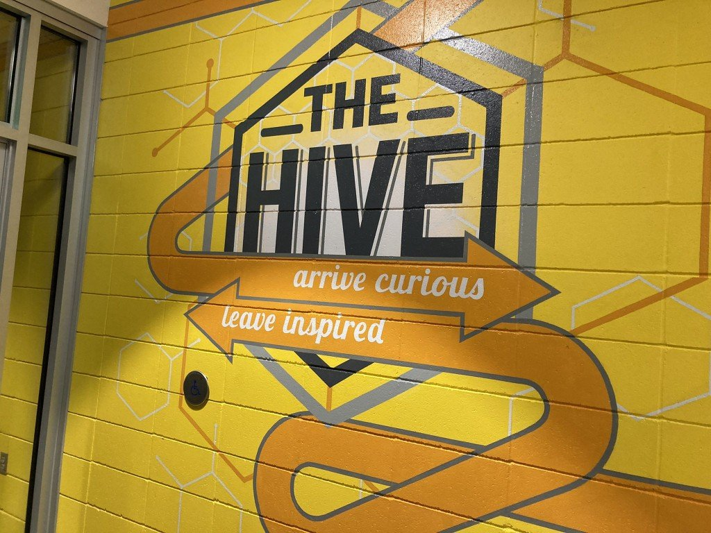 The Hive is finally open.