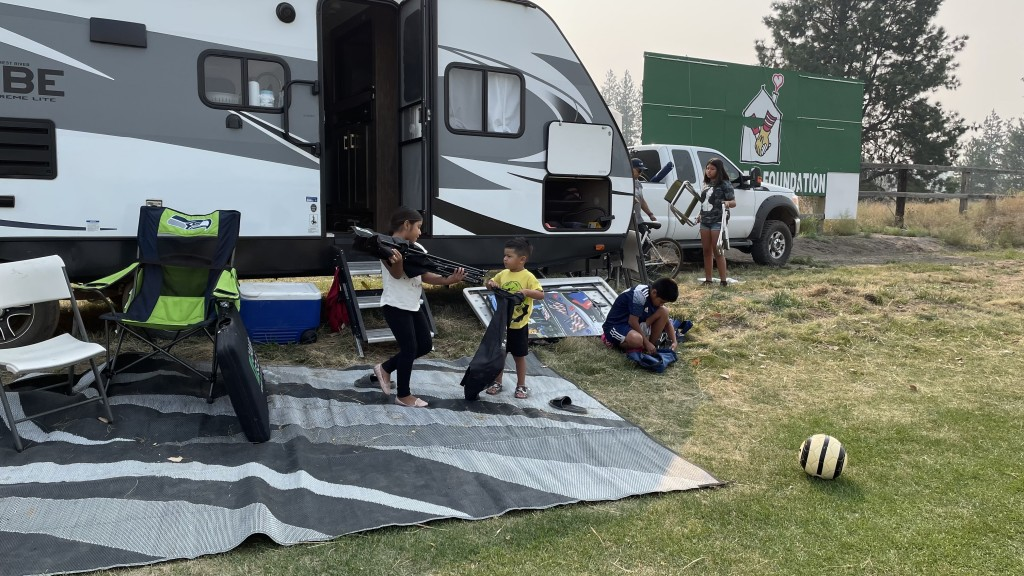 Air Quality Cancels Northwest Cup Gaspar Family Packs Up To Leave