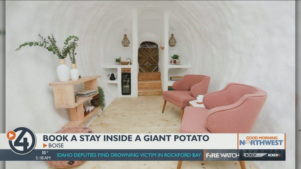 Book A Stay In A Giant Potato