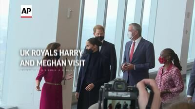 Harry, Meghan Visit World Trade Center Observatory In Nyc