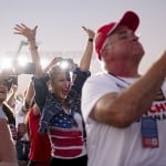 Georgia Rally Marks Debut Of Gop Primary 'trump Ticket'