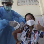 Latest: Cambodia Vaccinating Kids Ages 6 To 11 For School