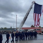 Procession For Spokane Firefighter Sept 18 Three