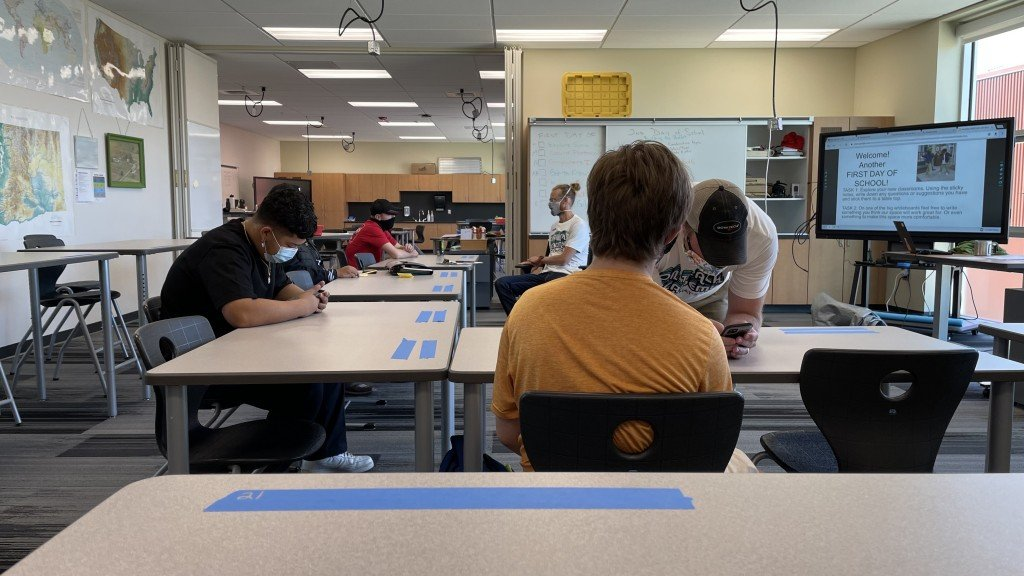 Spokane Students Start First Day Of School At On Track Academy