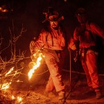 Suspected Arson Wildfire Forces Evacuations In California