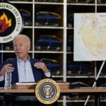 Out West, Biden Points To Wildfires To Push For Big Spending