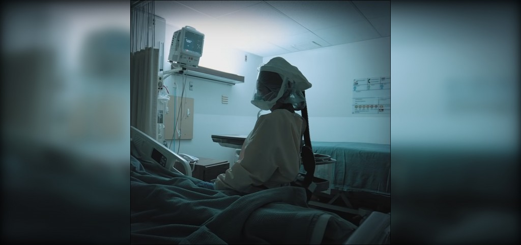 Nurse In A Covid Room At Bonner General Health And Hospital