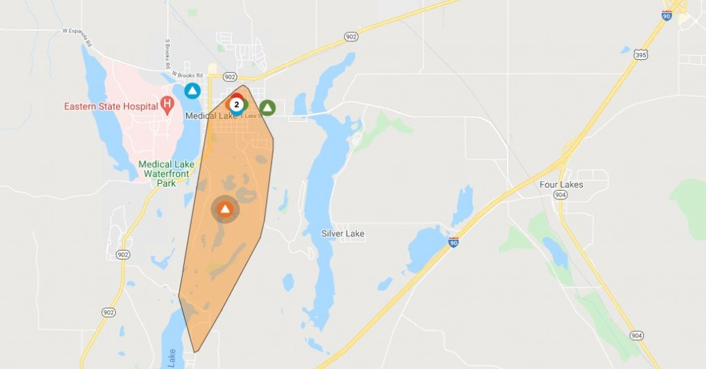 Medical Lake power outage