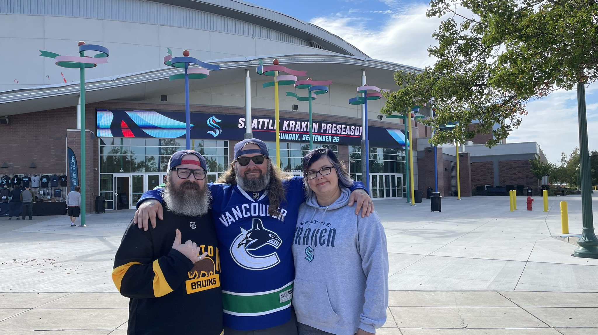 'It's a once-in-a-lifetime experience': Seattle Kraken fans excited to attend first game in Spokane