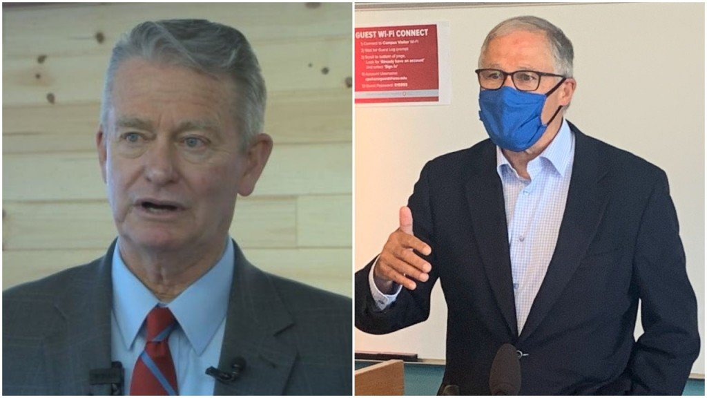 Brad Little and Jay Inslee