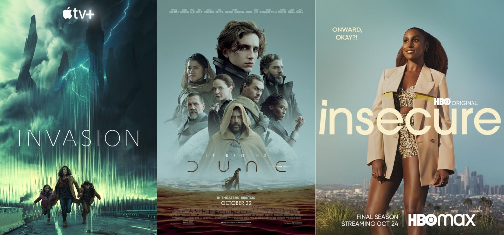 New This Week To Tv, Streaming And More: 'dune,' 'invasion' And An Elton John Album