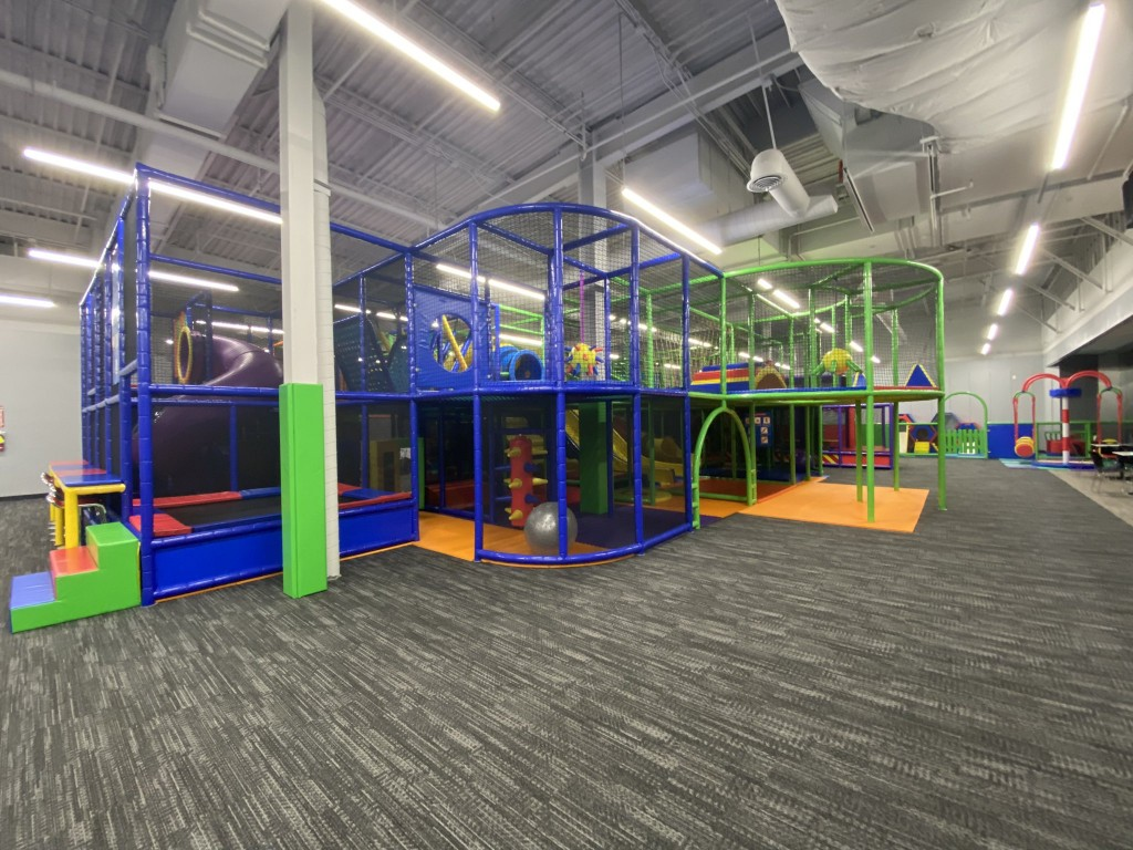 Take a look inside the new 'We Play' Spokane Valley Mall playground