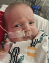 Nash was born premature at 27 weeks old & he's fighting the odds.