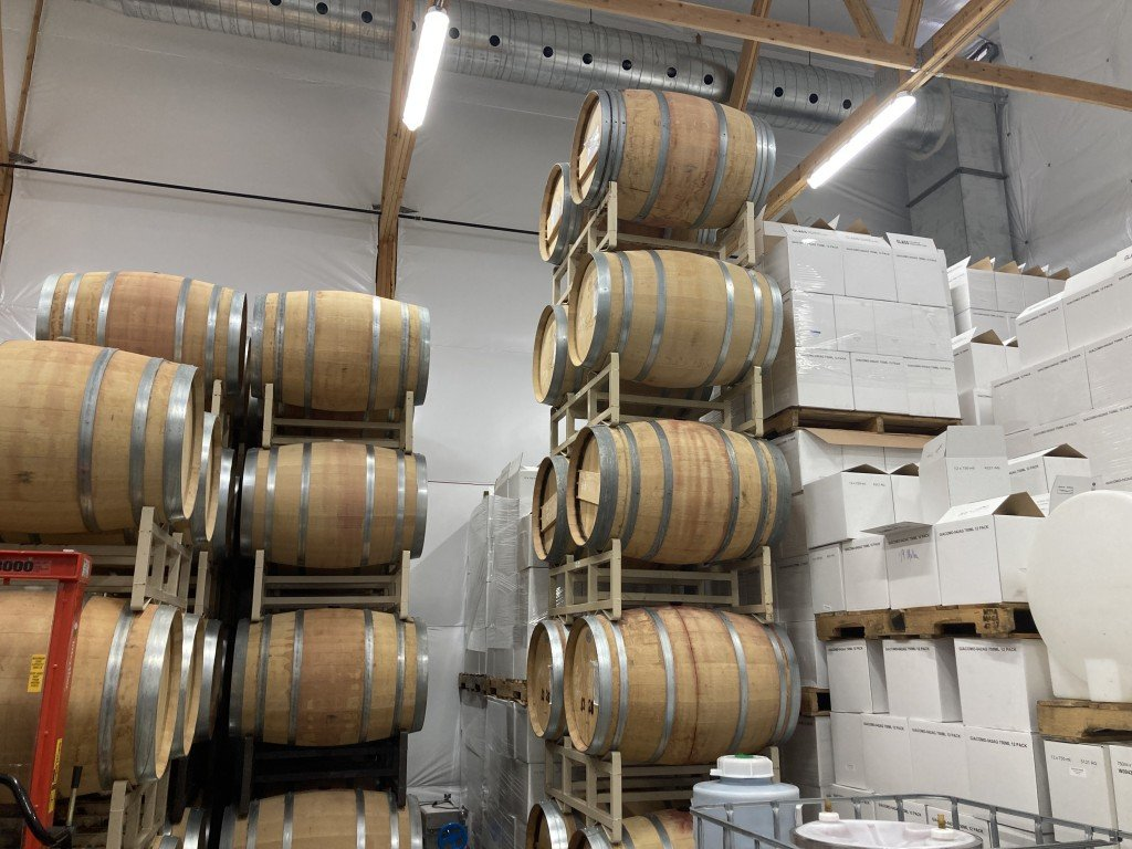 Liberty Lake Wine Cellars deal with supply chain issues.