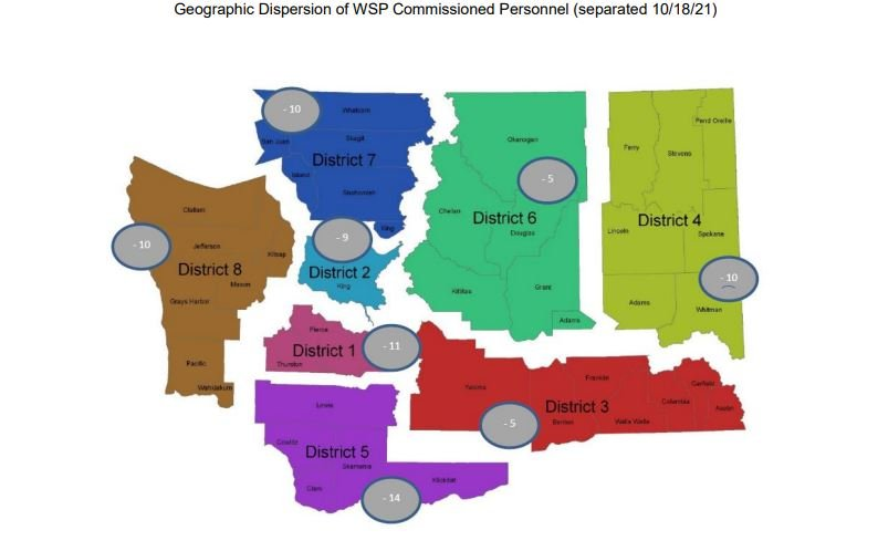 WSP separations map