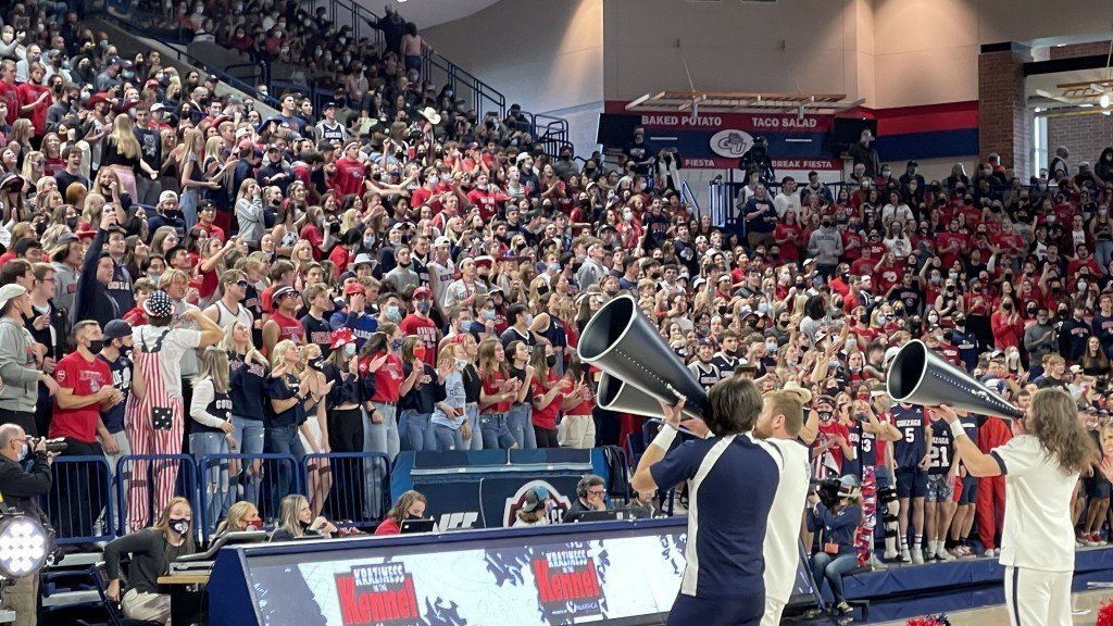 Gonzaga Fans At Kraziness In The Kennel 2021